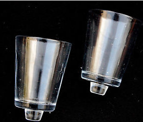 Glass Candle Receptacles