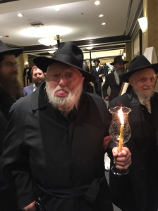 R' Michel Raskin in vainglorious style