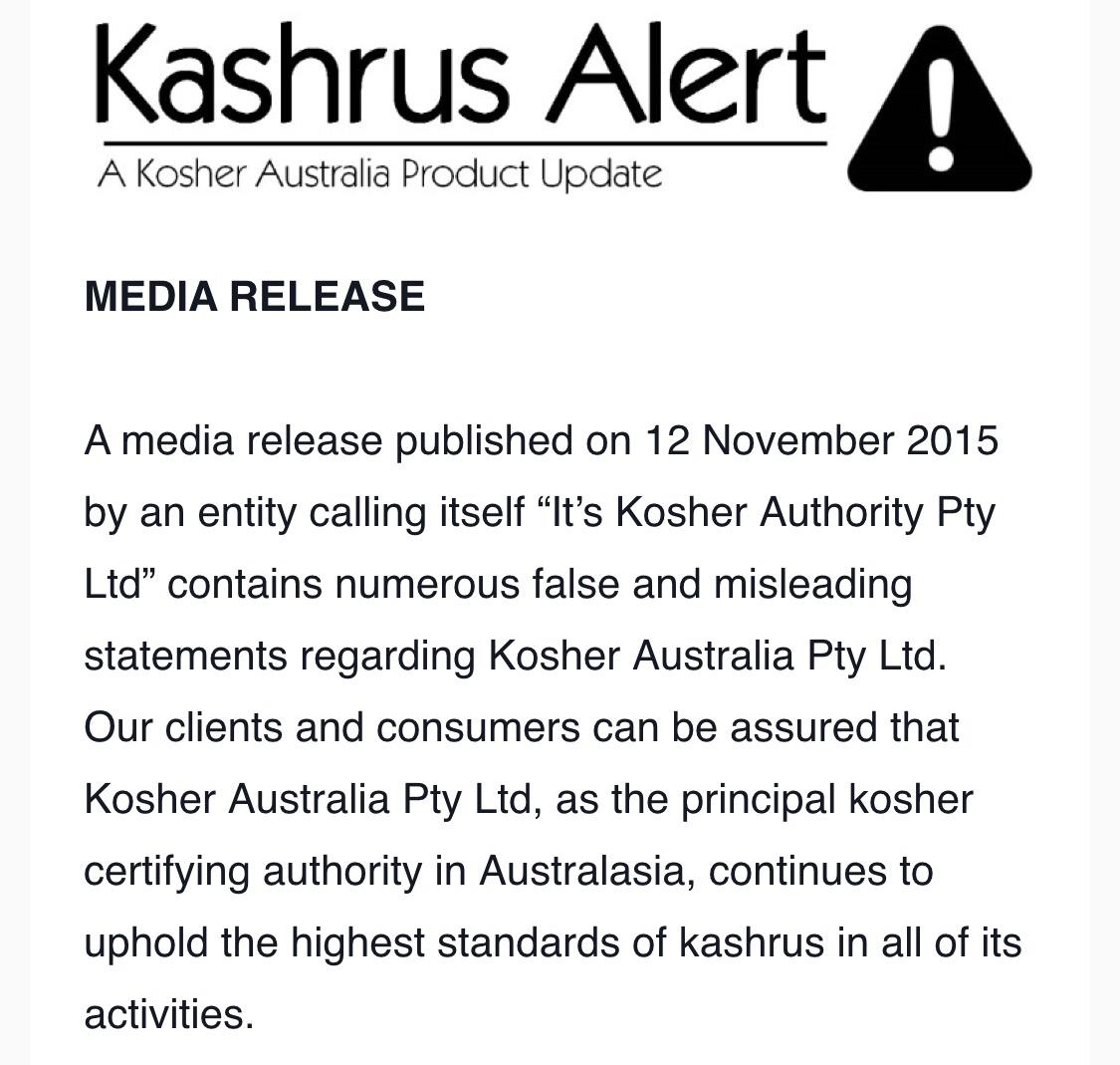Kashrus pitputim mg rabis kashrus business its triangle k in the states buycottarizona Choice Image