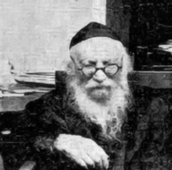 Rav Shlomo Yosef Zevin
